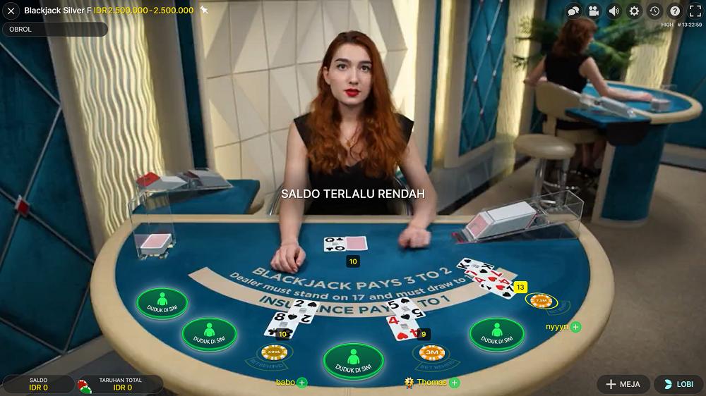 Aturan Bermain Blackjack di Casino Online, Mabukbola
